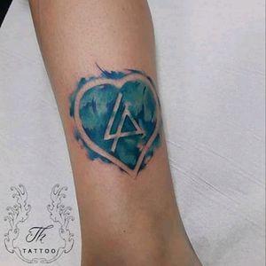 #watercolortattoo for a Linkin Park fan in Germany.. #tatuajwatercolor #tatuajemuzica #tatuajefete #linkinpark #linkinparktattoo #salontatuajebucuresti #salontatuaje www.tatuajbucuresti.ro