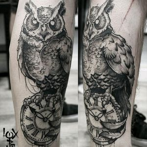 Owl on a clock #tattooftheday #darkartists #darkart #blackworkerssubmission #blackworkers #blacktattoomag #chaoticblackwork #chaoticblackworkers #blacktattooeurope #blackworkerstattoo #TTTism #blxckink #btattooing #skinartmag #iblackwork #blacktatts #blacktattooing #occultarcana #grenoble #inkoftheday #tattooftheday #loxiput #iblackwork#Inspiringblacktattoo#occultartists#onlythedarkest#loxiput#witchcraft #neroaddict #witch#occult #blackworkersubmission
