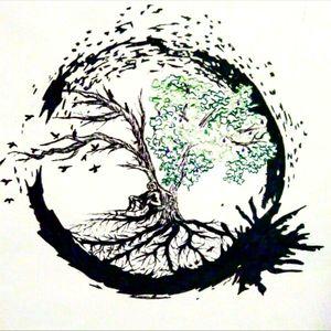 #tree #circle #arrival #birds #tattoo #ink