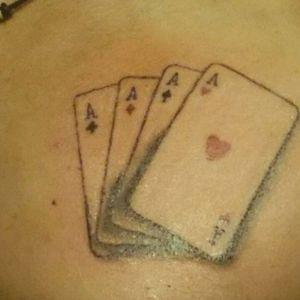 #card #pokercard #as #tattoo #tattoodesing #heart