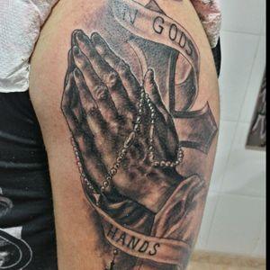 #gods #hand #graywash #technique #dynamicblack #cross