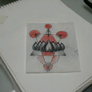 A cool #geometric #tattoo #design up for grabs @ #threekeystattoo #stcatherinestattoo #blackandgrey #blackwork #walkinswelcome