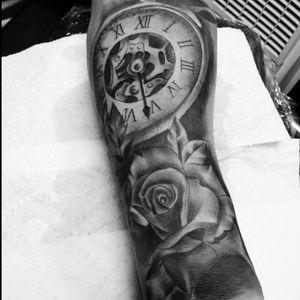 My tattoo artists' work !