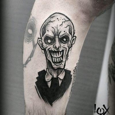 Gentlemen from Buffy the vampire Slayer. #darkartists #darkart #blackworkerssubmission #blackworkers #blacktattoomag #chaoticblackwork #chaoticblackworkers #blacktattooeurope #blackworkerstattoo #TTTism #blxckink #btattooing #skinartmag #iblackwork #blacktatts #blacktattooing #occultarcana #grenoble #inkoftheday #tattooftheday #loxiput #iblackwork#Inspiringblacktattoo#occultartists#onlythedarkest#loxiput#witchcraft #neroaddict #witch#occult #blackworkersubmission