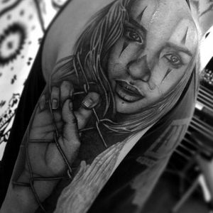 #Ronstoppable @ronstagram #Chicano #ChicanoStyle #Realism #Portrait #BlackandGrey #Chola #Payasa #Thug