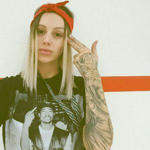 #BigNessiii @big_nessiii #TattooedGirl #TattooGirl #Tattoodobabes #InkedGirl #Girlwithtattoos #Makaveli #2pac #Tupac