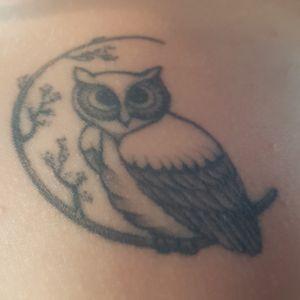 Owl #ilovetattoo #owltattoo