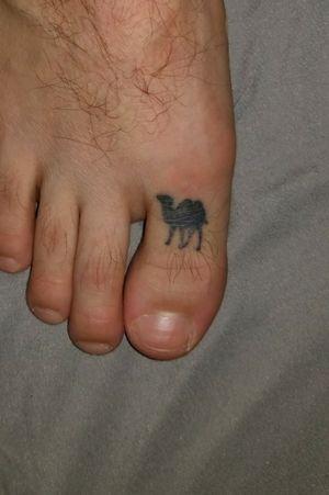 #cameltoe #foottattoo #foot #toe #camel #tattooart