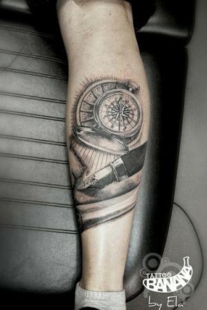 #tattoobanana #tattoo #tattoos #tatts #tattooed #tattooart #tattooartist #tattooist#bodyart #inked #thurles #ink #tatuaze #tatuaje #worldfamousink #sabretattoosupplies #irelandtattoostudio #tattooshop #tattooprime #easytattoo_uk #realistic #compasstattoo