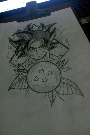 Goku Limit Break #goku #dragonballtattoo #drawing #tattooartist