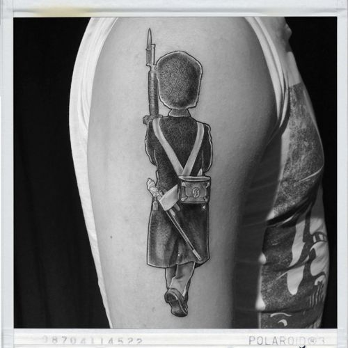 #tattoo #theroyallifeguards #tattoo #soldiertattoo #inked #soldier #tattoos