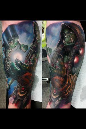 Artist was Luke Silver from Obsidian Ink. Central Queensland, Australia