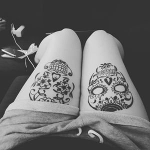 #skullcandy #skulltattoo #mexicanskull