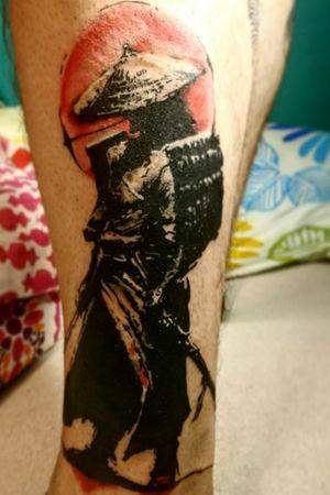#samurai #samuraitattoo #bratislava #slovakia #tattooartist #black #radiantcolorsink #tattoo #tattooart