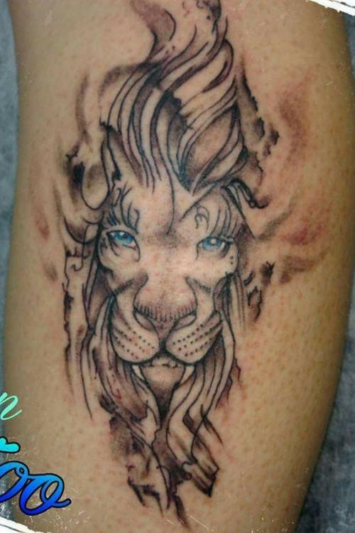 #lion #liontattoo #leao #animaltattoo #zentattoos