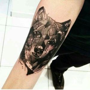 Agendamentos pelo ☎(11)993776985 #ericskavinsktattoo  #extremeskincare #lobotattoo #tattoowolf #reference #blackwork #tattoogeometrica #geometrictattoo #artfusion #electricink # #tattoodo #tattooguest #tguest #tattoo #inked #tatuagem #follow4follow #like4like #sleevetattoo #inkedmag #tattoo2me #instatattoobr #ttblackink
