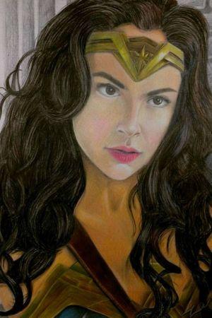 Gal Gadot Wonder Woman #wonderwoman #galgadot #dccomics #justiceleague #mulhermaravilha #zentattoo #ligadajustica