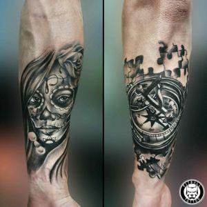 Chicano Tattoo - Compass Tattoo #blackandgray #art #artist #tattoos #tattooing #tattoo #tattoomag #inK #inkdmag #tattoomagazine #tattoos_of_instagram #tattoolifemagazine #tattooinstagram #tattoomania #tattoocultur #tattoocomunity #tattooculturmagazine #tattooare #besttattoos #tattooed #tattoooftheday #picoftheday #tattoo #chicano #chicanotattoo #compass #compasstattoo