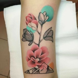 By #MariuszTrubisz #Magnolia #flowers #floral