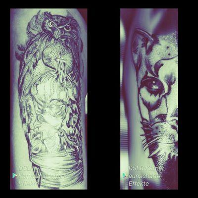 #abgeheilt #puma #schädel #eulen #kerze #dotwork #frau #inkgirl#inked #follower #follow#followforfollow #tattoo#tattoos#cheyene #cheyene #black #blackgrey #frau#inkgirl #arm#sleeve#netz #artist #dreamtattoo #mindblowing #mone1971#tattoo #intenzpride #blackgrey #cheyenehawk #eternal #dreamtattoo#mindblowing