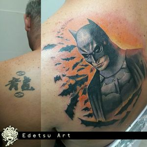 """Super fun coverup. From chinese """"something"""" to Batman"""
