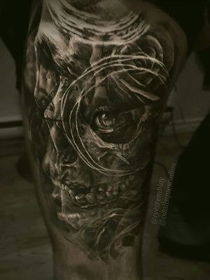 #skull #darkart #mementomori #lifeanddeath #blackandgrey #realism