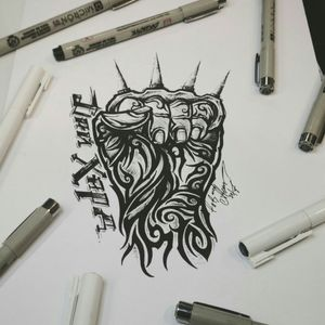 Тату эскиз - Дай Хард. Эскиз нарисован лайнерами и брашем Superior. Тату мастер Вадим. Студия художественной татуировки и пирсинга Evolution. www.evotattoo.ru. Тел./WhatsApp: 8(925)5143553. #tattoo #diehard #tattoos #knuckle #die_hard #illustration #draw #paint #line #тату #тату_эскизы #дайхард #кулак_и_кастет #кастет #тату_кулак #эскизы #флеши #искусство #скетчи #тату_дизайны #иллюстрации #заказать_эскиз #татуировки_москва #тату_художник #художники @tat2atom
