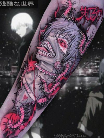 #KenKaneki from #TokyoGhoul by #BrandoChiesa #anime #Funimation #ghoul #color