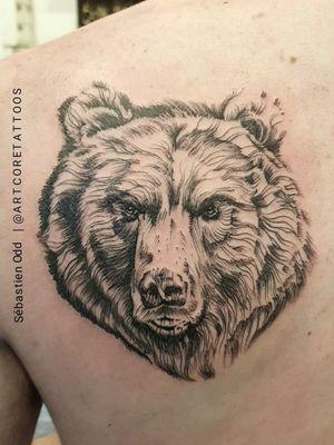 #tattoo #tattoos #toulouse #boywithtattoos #toulousetatouage #tattooed #tattooartist #ours #beartattoo #tattooart #tattooedguy #tattoome #tattoofrance #instatattoo #tattooist #tatouage #darkartists #firsttattoo #tattoodesign #tattooman #tattooing #tattooarm #tattoobras #inked #ink #blacktattoos #artcoretattoos #sebastienoddtattoos