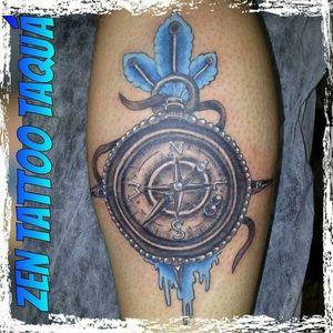Zen Tattoo - Bússola. #bussola #zentattoo #mrrock #oblogdozen #inklovers #inked #eletricink #everlastcolors #taquaritinga #taqua #tattoo #tatuaje #tatuagem #instattoo #ink #tattoos #tattooer #tatuagemsp #tq