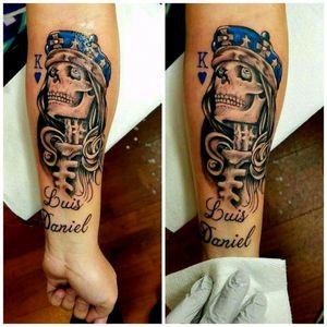 #skulltattoo #tattoodo #topnotch #inkjunkiez @alaskatattoos