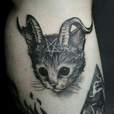 #demoncat #cat #demon