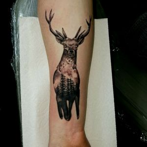 #wildlifetattoos #tattoodo #blackngreytattoo @alaskatattoos