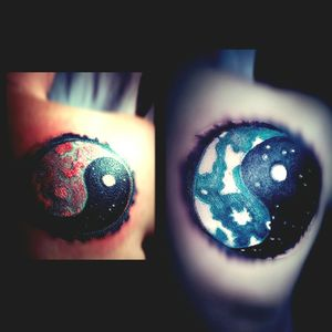 #partnertattoo #frau #inkgirl #inked #farbe #bunt #inkgirl #follower#follow #mann #schulter #tattoo #tattoos#tattooedgirl #cheyene #black #blackgrey #intenzpride #intenzink #cheyeneEquipment #dotwork#artist #mone1971 #beautifulink #germantattooers