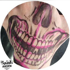Freehand work #tattoo #tattoos #skulltattoo #skulltattoos #handskull #freehandtattoo #freehandtattoos #inked #tatted #instatattoo #bodyart #instaart #tattooed #tattoist #sleevetattoo #chesttattoo #photooftheday #amazingink #tattedup #inkedup #blxckink #tattrx #tttism #blackworkers #blacklinetattoo #lineart #worldfamousink #ezpen #ezfilterv2 #linetattoos