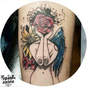 #tattoo #tattoos #tat #ink #inked #TFLers #tattooed #tattoist #coverup #art #design #instaart #instagood #sleevetattoo #handtattoo #chesttattoo #instatattoo #bodyart #tatts #tats #amazingink #tattedup #inkedup #lineworktattoo #rosetattoo #daisytattoo #wingtattoo #txttoo #tattism #tattrx