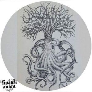 🦑 treeoctopus🌳 #tattoo #tattoos #inked #tattooed #tattoist #design #instaart #instagood #sleevetattoo #tatted #instatattoo #bodyart #amazingink #tattedup #inkedup#sketchtattoo #tattoodesign #treetattoo #octopustattoo #linetattoo #lineworktattoo #lineworksketch #dotworkers #dotworktattoo #dotworksketch #blxckink #blackworkers #txttoo #tattism #inkmag