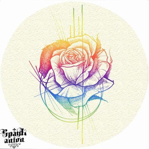 Rianbowroses 🌹 . . . . . . . . #tattoo #tattoos #tattooed #tattoist #tatted #instatattoo #bodyart #amazingink #tattedup #inkedup #sketchtattoo #tattoodesign #rosetattoo #rosestattoo #rainbowtattoo #rainbow #rainbowrose #rainbowroses #rainbowrosestattoo #blxckink #blackandgreytattoo #blackandwhitetattoo #txttoo #tttism #tattrx #inkmag #inkedmag #tattoodrawing #contemporarytattoo
