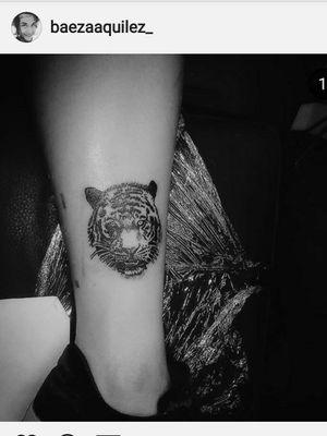 Tiger Tattoo #Small #Mini #8Cm #Adaptacion c':