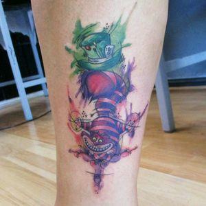 #tattooartist #tattoo #allkarima #coveruptattoo #coverup #aliceinwonderland