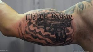 We the People and pistol