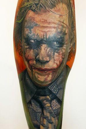 Joker Done Here at💥 @FAMETATTOOS.💥 🌟COME CHECK OUT THE BEST TATTOO SHOP IN MIAMI.🌟 #tattoo #tattoos #tattooed #tattoolife #tattooedlife #tattooedguys #tattooedgirls #tattoocommunity #tattoolovers #ink #inked #inkedup #inklife #inkedlife #bodyart#amazingink#inkedup#miamitattoos #miami#besttattoosinmiami #miamitattoos#jokertattoo #batman #joker