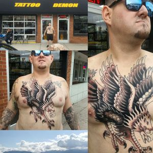 Out west basking in the overcast... guest artist at Tattoo demon a couple months ago