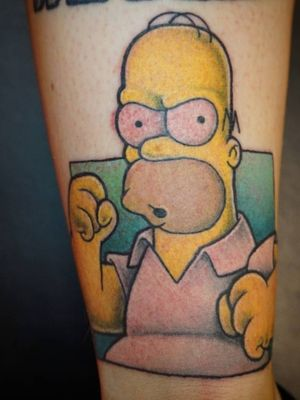 #simpsonstattoo #Simpsons #homersimpson #homer #newschool #comic
