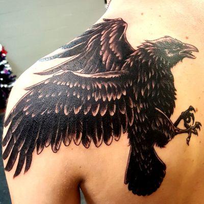 9 hour #Raven spirit totem