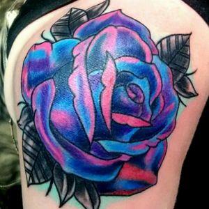 #rose #galaxytattoo #flowertattoo