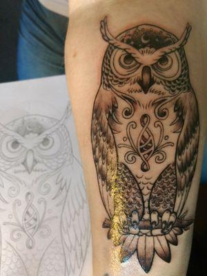 #owl #tattoo #dinamicink