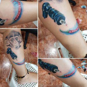 Tattoo machine Pepper Colours