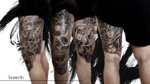 #tattoo #TattooSleeve #tattoosleeves #tattoosleve #blackandgreytattoo #blackandgraysleeve #portrait #portraits #realism #realismtattoo #realismo #tatted #tattooart #tattooartists #tattooartistmagazine #inked #ink #skinnyvitatts #