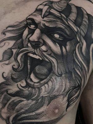 Viking #viking #vikingtattoo #Vikings #BlackworkTattoos #blackworktattoo #blackwork